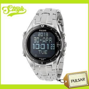 【あすつく対応】PULSAR パルサー 腕時計 デジタル PQ2001 メンズ|steyk