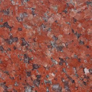 ミカゲ石  ニューインペリアルレッド(インド産) 400角 本磨・バーナー仕上 (送料別途)|stgarden-seki