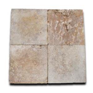 トラバーチン ブラウン 方形 300×300 アンティーク仕上 【送料別途】|stgarden-seki