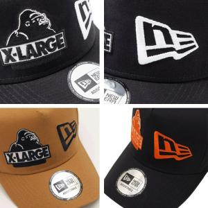 ... X-LARGE(エクストララージ)×NEWERA(ニューエラ) NEWERA MIX LOGO SNAPBACK 6cd3f59363f