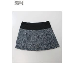 X-girl Sports(エックスガールスポーツ)PLEATED SKIRT NOISE 05176801 プリーツスカート ファスナー付ポケットプリーツ生地撥水 レディース