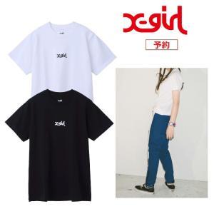 エックスガール X-girl BASIC S/S REGULAR 2P TEE 05181115 2...