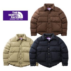 THE NORTH FACE PURPLE LABEL ザ ノースフェイスパープルレーベルLightweight 65/35 Stuffed Shirt ND2752N 光電子ダウン