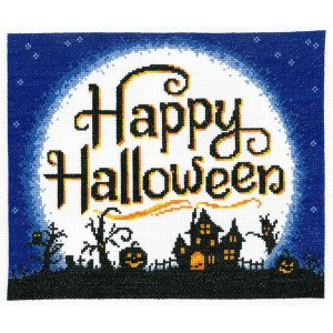 Imaginating-Full Moon Halloween クロスステッチキット stitch-being