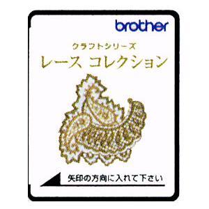 ブラザー刺しゅうカード「レースコレクション」 stitch