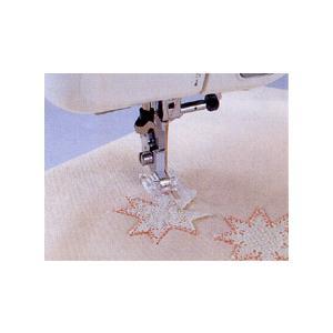 ブラザーミシン用アップリケ押さえ「水平釜用」|stitch