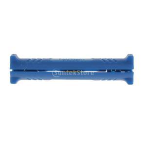 ノーブランド品同軸ケーブル ストリッパー(青)|stk-shop