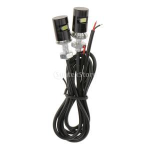 ノーブランド品防水 オートバイ 自動車 ナンバープレート ネジランプ 電球|stk-shop
