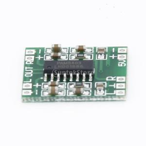 ノーブランド品超マイクロ型デジタルアンプボード 2*3W Dタイプ|stk-shop