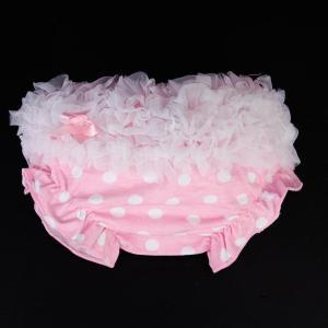 布おむつカバー オムツカバー ワンサイズ ちょう結び 新生児オムツ卒業まで (ピンク) stk-shop
