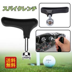 ギアレス タイプ プラスチック製 ハンドル ゴルフ シューズ スパイクレンチ ロングペグ付き 高品質|stk-shop