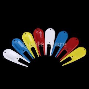 8Pcsリペアツール ゴルフ フォーク ジャックフォーク プラスチック製