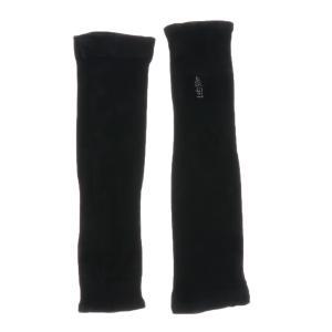 Dovewill  アームカバー ハンドカバー 腕カバー スキン保護  冷感 抗UV 日焼け止め ゴルフ/サイクリング/登山用 6色選べる - ブラック stk-shop