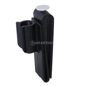 ゴルフボールホルダー クリップ ゴルフアクセサリー ゴルフバッグ用 ブラック|stk-shop