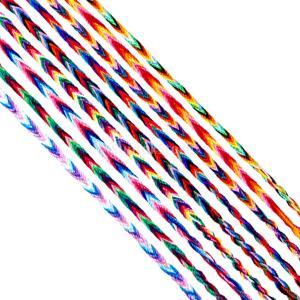 【9個セット】 ミサンガ ブレスレット アンクレット メンズ レディース ミックスカラー 織りブレス...