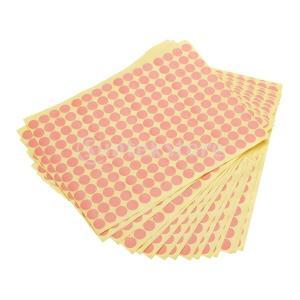 【ノーブランド品】ピンク丸ラベルペーパー 2880個|stk-shop