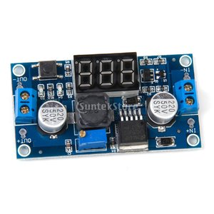 [ノーブランド品]DC-DC 調整可能な降圧電源モジュール(3桁表示) stk-shop