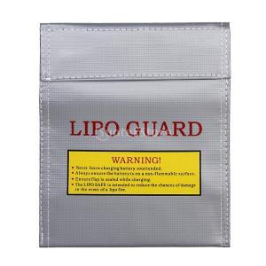 【ノーブランド品】リポガード リポバッテリー袋 セーフティーバッグ アップドラフト 防爆バッグ 22.2x18cm