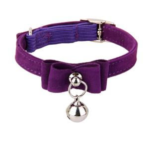 猫 首輪 鈴付き アジャスター付 バックル式 長さ調節可能 猫用品 猫 子犬用 ペット 首輪 全6色|stk-shop