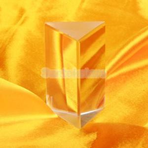 【ノーブランド品】三角プリズム 物理学 光の実...の詳細画像2