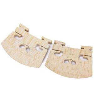 ノーブランド品2個セット バイオリンブリッジ バイオリン駒 メープル パーツ アクセサリー 4/4|stk-shop