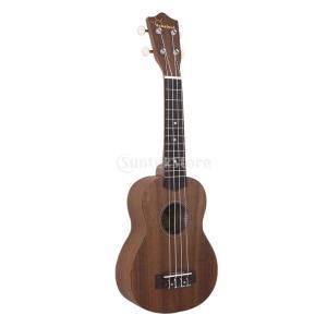 説明:  愛らしい小さなウクレレギター すべての音楽愛好家のため 軽量で持ち運びが容易  12フレッ...