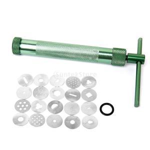 ノーブランド品 クレイガン ひも作り機 粘土 押出し器|stk-shop