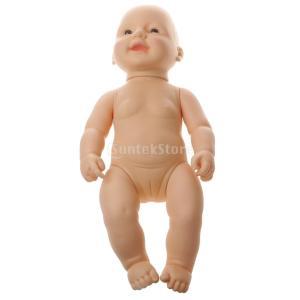 ノーブランド品 子供 おもちゃ シリコン ソフトビニール製 リアル 赤ちゃん人形 女の子 ドールハウス用品 stk-shop