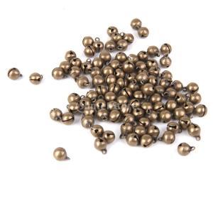 約100PCS メタル 真鍮製 ビーズ ジュエリー ペンダント DIY 素材 材料 装飾 ネックレス 手作り アクセサリー|stk-shop