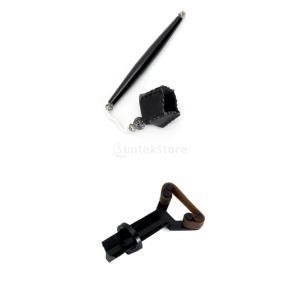 ポケットプールスヌーカービリヤードチョークホルダー+キューチップクランプファスナーの修復ツール