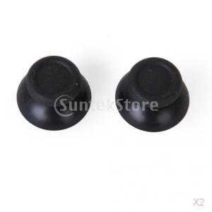 ノーブランド品  4個入り コントローラー用 サムスティックボタン 交換用 ブラック Sony PlayStation 4 PS4 対応|stk-shop