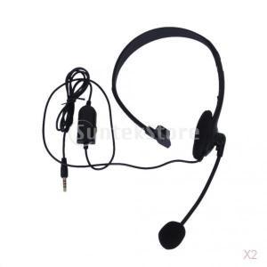 PS4用のマイク/ワット黒3.5ミリメートル、単一のイヤホンステレオヘッドホンイヤホン|stk-shop