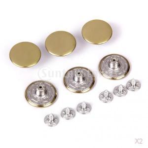 【ノーブランド品】ジーンズ用/20mmのスムースのジーンズタックボタン/ 6セット|stk-shop