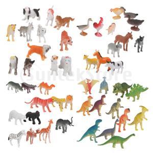 説明:  48個の魅力的な動物モデルは、様々な鮮やかなポーズとカラーで繊細な動物の形に来る。子供たち...