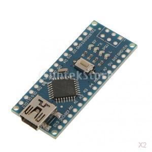 2個入り Arduino Nano V3.0 ATmega328P 対応 ミニ USB CH340...