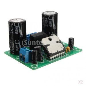 ノーブランド品  2個入り AC 12-32V 100W  TDA7293 デジタルオーディオアンプ アンプ 1.0モノラル 単一チャネル stk-shop