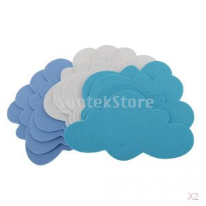 24個入り 混合色 泡 雲の形 曇り DIY 手芸用 子供 装飾品 工芸|stk-shop