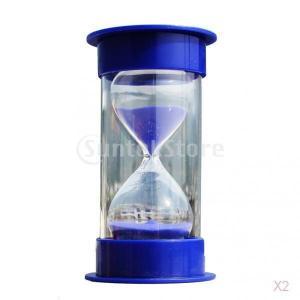SONONIA  2本 砂時計 20分 ゲーム キッチン時計 装飾 プレゼント 青