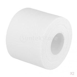 綿の自己接着性ラップ包帯スポーツホーム救急医療用テープ白|stk-shop