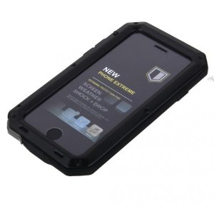 iphone 6 / 6S -black用防水耐衝撃アルミカバーケース|stk-shop