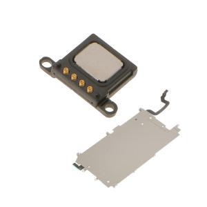 Dovewill 交換修理用部品 LCDスクリーン メタル バック プレート ホーム ボタン フレックス &イヤホンスピーカー iPhone 6適用|stk-shop