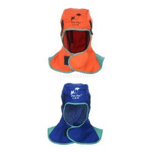Baosity 2個入り 保護フード 保護具 ヘルメット 溶接頭巾 溶接フード ハット 洗濯可能 難燃性 頭カバー 快適