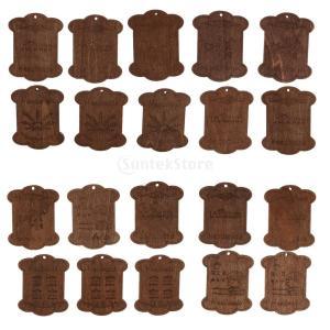 説明: 手作りの天然木製の綿のボビン。 美しいデザイン、高品質、お友達に良い贈り物。 スレッドを整理...