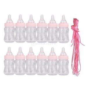 説明:かわいいミニおしゃぶりのネックレスと赤ちゃん哺乳瓶パーティーのゲームの装飾の好意これらのおしゃ...