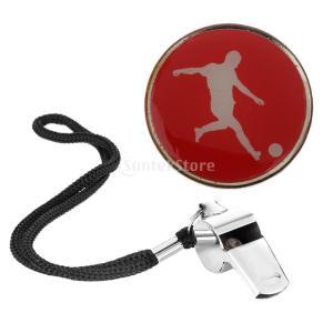 説明: 軽量で耐久性のある金属とゴム製の審判フリップトースコインは、頭や尾を転がす必要があるスポーツ...