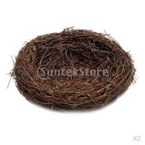 説明: 手作りのブドウ鳥の家の巣、様々なサイズ:6cm  -  35cmのオプションそれは暖かく、静...