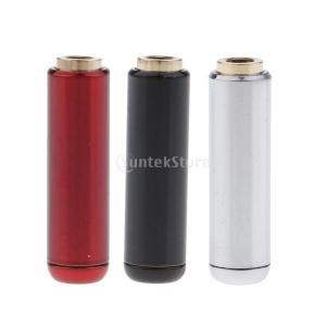 アクセサリー 部品 備品 3ピース 3.5mm 1/8 インチ T RRS 4極 メス プラグ A/V はんだ コネクタ|stk-shop