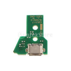 Fenteer PS4 Pro デュアルショック用 USB充電ポート 3個入 12ピン JDS-04...