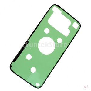 Prettyia 2ピース バックカバー バッテリードア テープ 粘着性 ステッカー 修理用 Samsung S7 edge対応 stk-shop