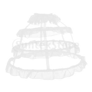 2ピースボールガウンペチコートクリノリンドレスフープスカートブライダルアンダースカート|stk-shop